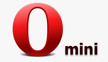 Opera mini логотип