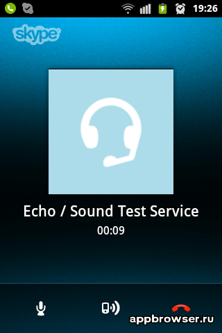 Skype разговор
