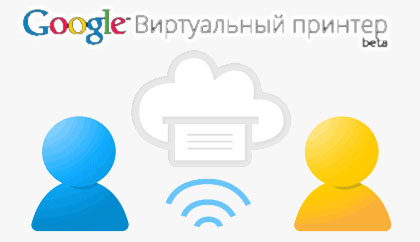 Google cloud print лого