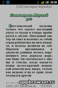 Текст и главы