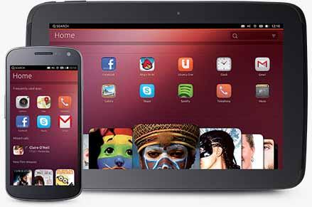Ubuntu телефон и планшет