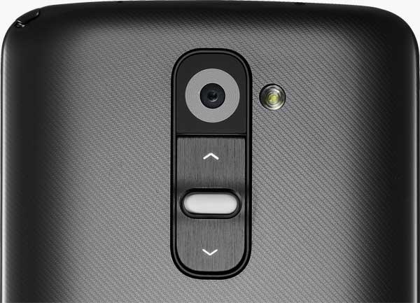 Клавиши управления LG G2