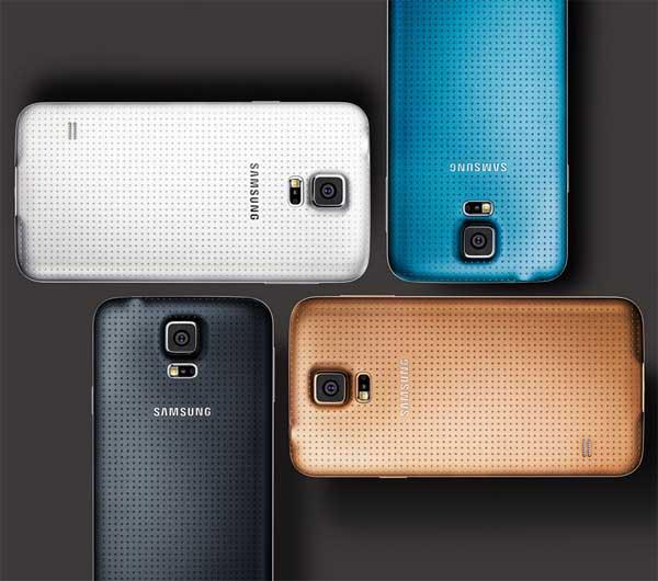 Samsung GALAXY S5 4 цвета