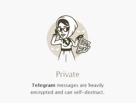Приватность Telegram