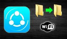 AnyShare передача файлов по WiFi