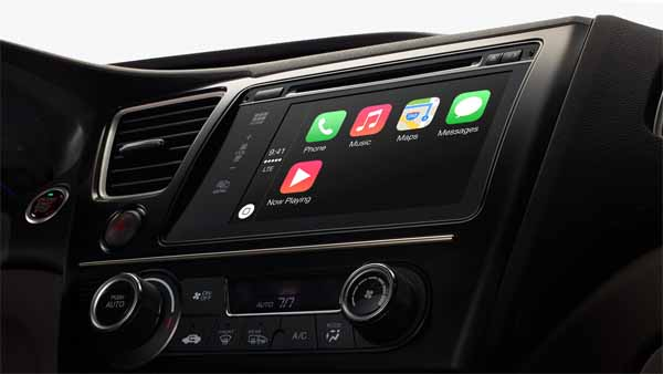 Интерфейс CarPlay