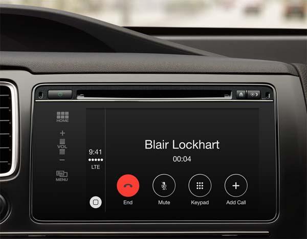 CarPlay звонки