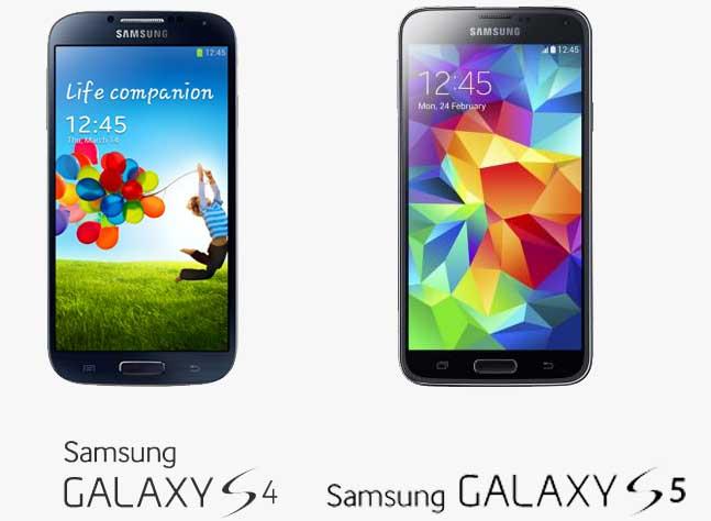 GALAXY S4 и GALAXY S5