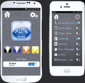 Управление AirBlub со смартфона