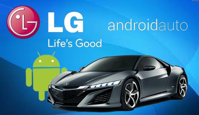 LG AndroidAuto