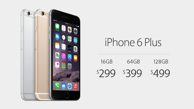 iPhone 6 Plus цена