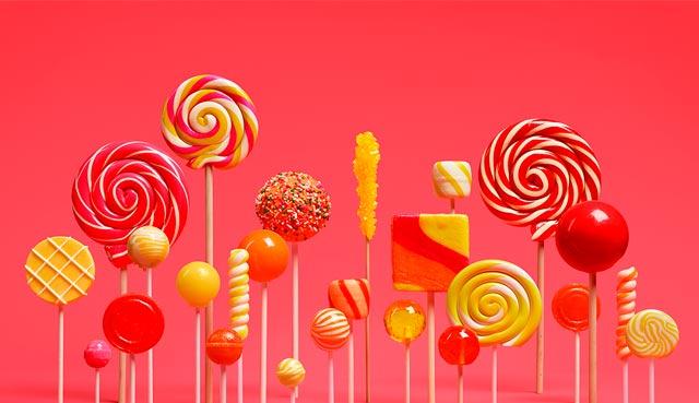 Новый Андроид 5 Lollipop (леденец)
