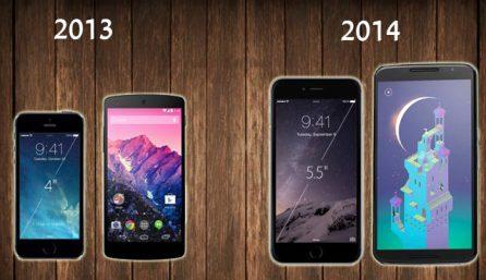 iPhone 5, Nexus 5 vs iPhone 6, Nexus 6
