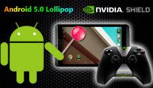Андроид 5 для Nvidia Shield