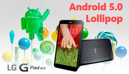 Андроид 5 для LG G Pad 8.3 Google Play Edition