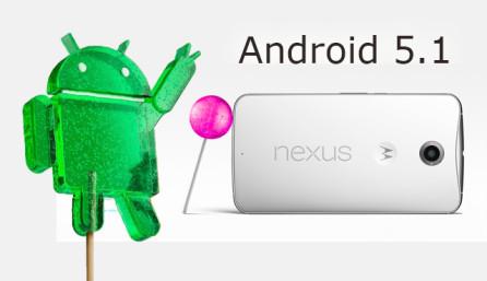 Android 5.1 для Nexus 6