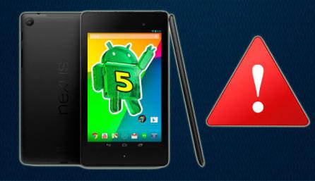 Nexus 7 тормозит после обновления