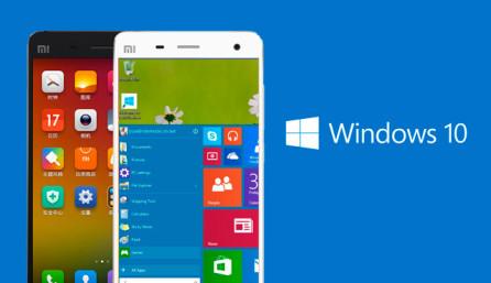 Windows 10 на Android телефоне