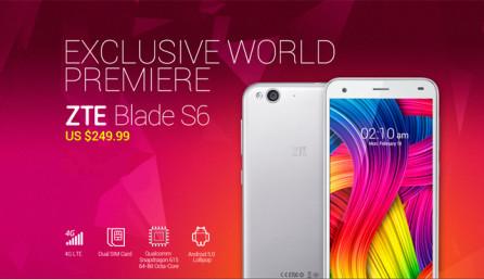 купить ZTE Blade S6