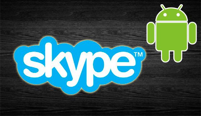 Скайп и Андроид