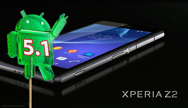 SONY Xperia Z2 - Андроид 5,1