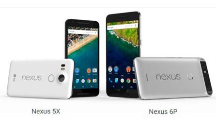 Google Nexus 5P и Nexus 6P