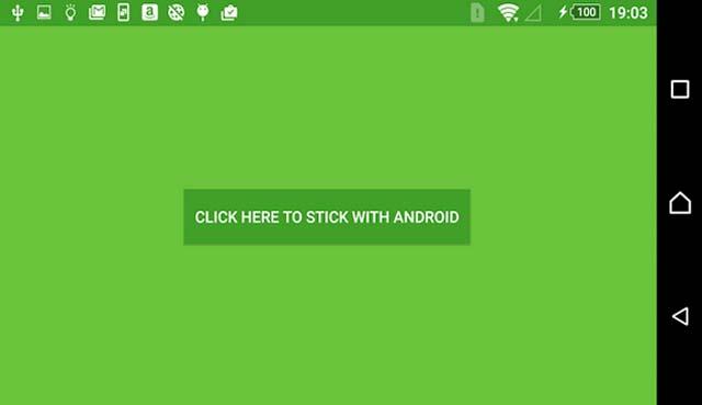 Приложение Stick with Android