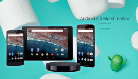 Android 6.0 Marshmallow для Nexus