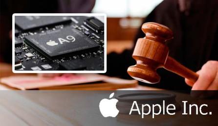 Судебный иск на Apple