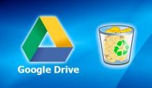 Очистка диска Google