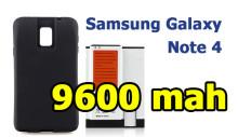 Усиленная батарея для Samsung Galaxy Note 4 - 9600 мАч