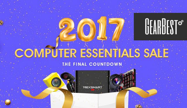 Распродажа на Gearbest к 2017 году