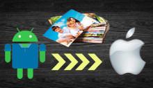 Передача фото с Андроид на Айфон