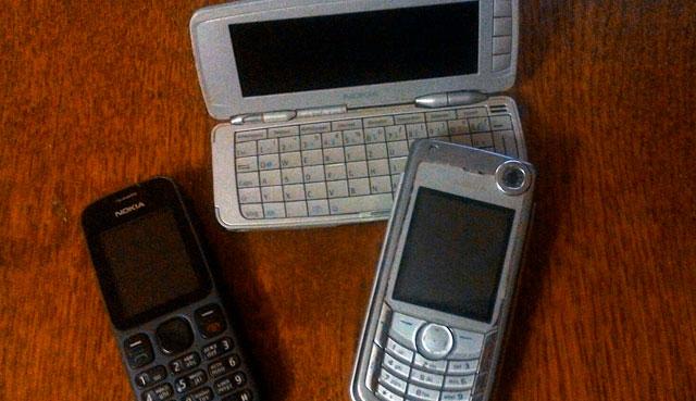 Мои телефоны Nokia