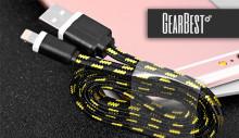 Плетеный кабель для iphone 6