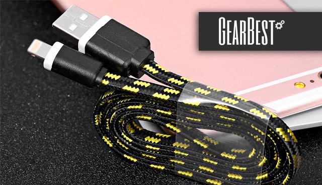 Плетеный кабель для айфона