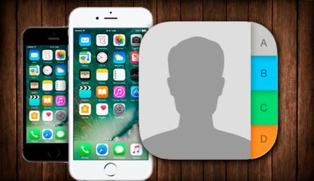 Контакты на Apple iPhone